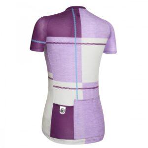 UP maillot m/corta Violeta