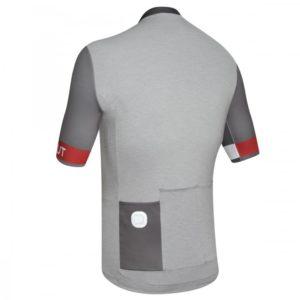 HYBRID maillot m/corta Negro-Rojo
