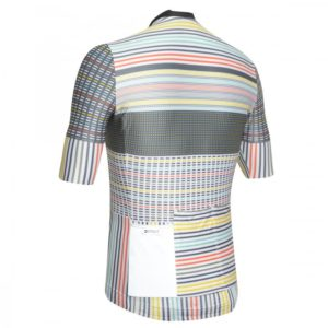 FLASH maillot m/corta Blanco-Multicolor