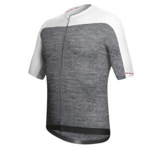 SKIN maillot m/corta Gris-Blanco