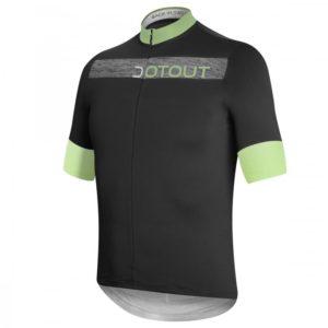 HORIZON maillot m/corta Negro-Lima