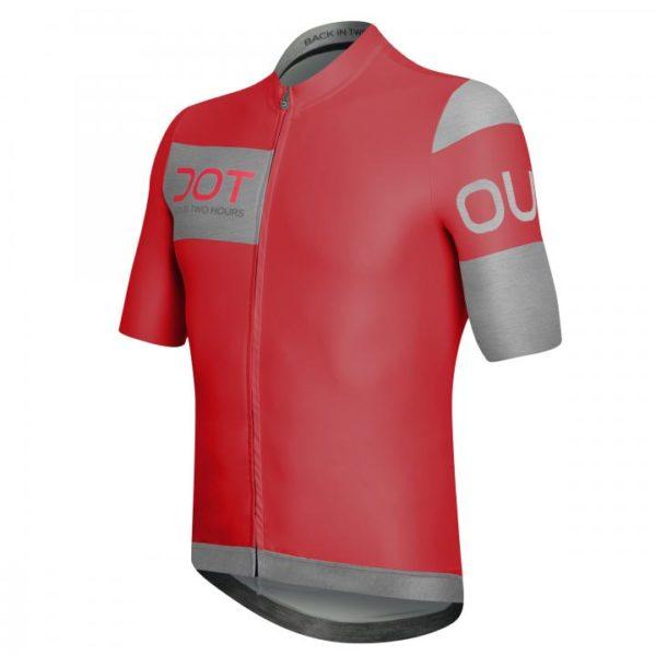 AVANT maillot m/corta Rojo-Gris