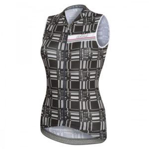KORE maillot s/mangas Negro-Blanco