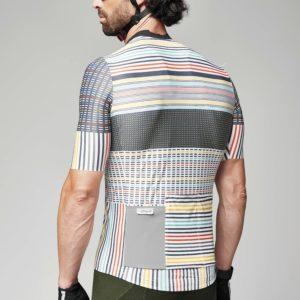 FLASH maillot m/corta Blanco-Multicolor
