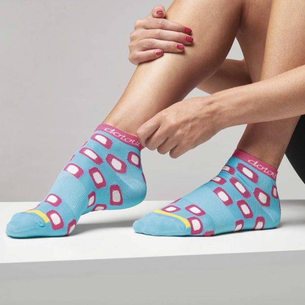 DOTS calcetines cortos Azul